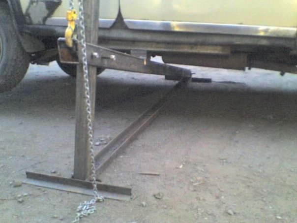 Самодельный опрокидыватель для автомобиля своими руками